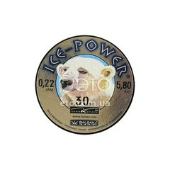 Леска BALSAX ICE POWER 30 m 0,22 mm