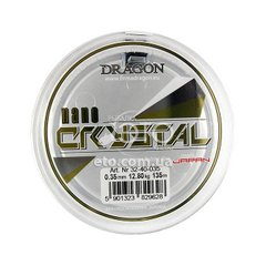 Леска Dragon NanoCRYSTAL 135m 0.35mm/12.80kg